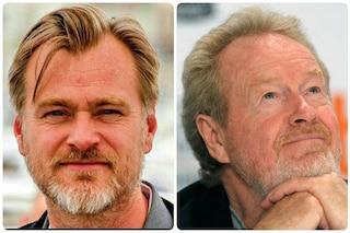 Christopher Nolan e Ridley Scott scrivono una lettera per salvare le sale cinematografiche