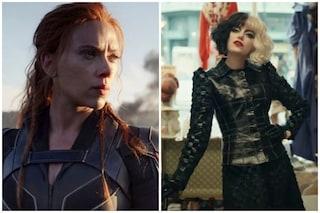 Black Widow e Crudelia disponibili su Disney+ in contemporanea con i cinema: ecco quando