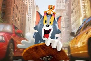 Tom e Jerry con Paolo Bonolis e Luca Laurenti, dal 18 marzo il film arriva in Italia