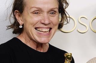 Oscar 2021, Frances McDormand miglior attrice protagonista per Nomadland: è la sua terza statuetta