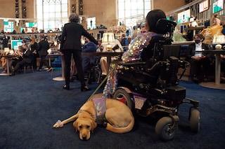 """""""Disabile e orgogliosamente nera"""", Andraéa LaVant e il suo cane Goji conquistano gli Oscar"""