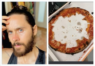 "Jared Leto ""maltratta"" una pizza e i fan italiani si indignano"