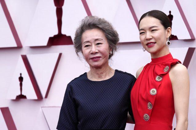 Youn Yuh–jung e Han Ye–ri (Monica Yi in Minari)