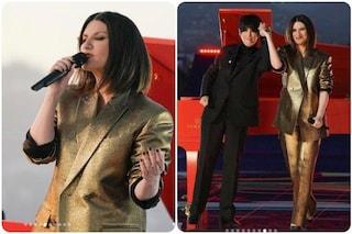 Le foto di Laura Pausini che canta Io sì alla notte degli Oscar 2021, perché si è già esibita
