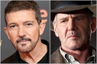 Antonio Banderas in Indiana Jones 5: foto e video dal set del film con Harrison Ford