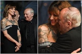 Cannes 2021, Dario e Asia Argento tenerissimi sul red carpet: è il festival di genitori e figli