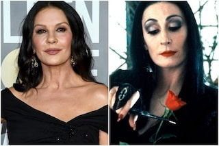 Catherine Zeta-Jones sarà Morticia Addams nella serie Netflix di Tim Burton