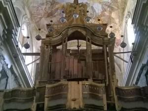 interno della chiesa di San Domenico ad Aversa