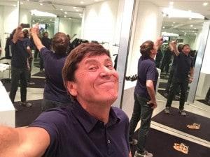 Il selfie di Morandi