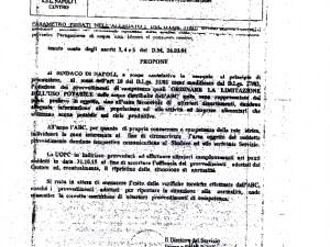 Il protocollo dell'Asl dopo e anlisi dell'Arpac sull'acqua nera a Napoli Est