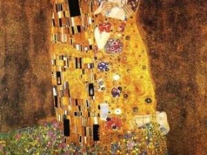 Klimt, Il bacio, 1907 –1908