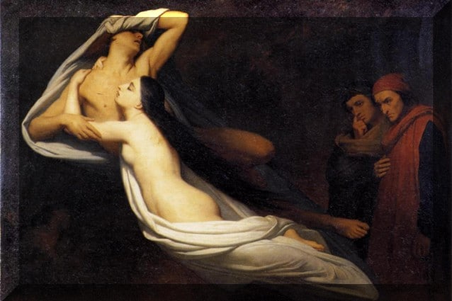 Ari Scheffer, Paolo e Francesca, 1835.