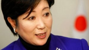 Yuriko Koike (credit photo: BBC)