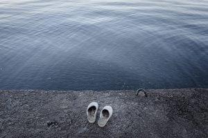 """Uno scatto tratto dalla mostra """"Un passo indietro"""""""