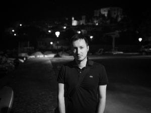 Il fotografo Cristiano Morbidelli