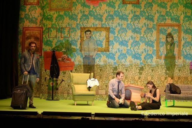 Un momento dello spettacolo - Federico Imperiale
