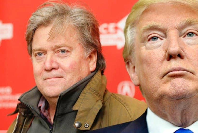 Steve Bannon e Donald Trump