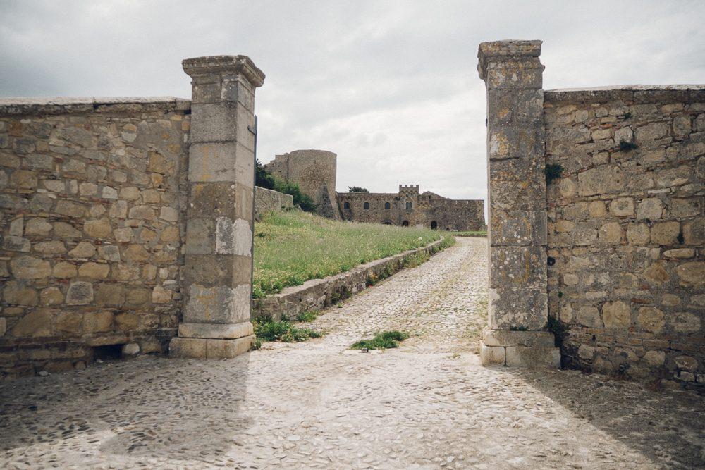 Castello ducale di Bovino   Photo: Vince Cammarata