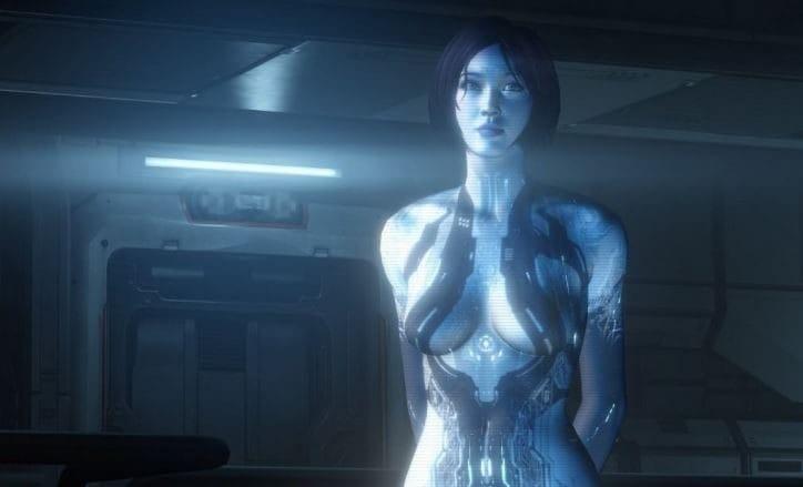 Una celebre eroina dei videogame: Cortana (Halo)