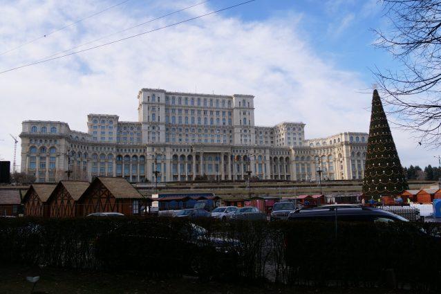 Il Parlamento di Bucarest [Foto scattata con la Lumix GH5 della Panasonic]