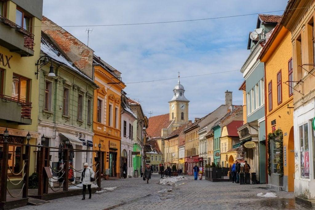 Città di Brasov – Foto scattata con la Lumix GH5 (Panasonic)