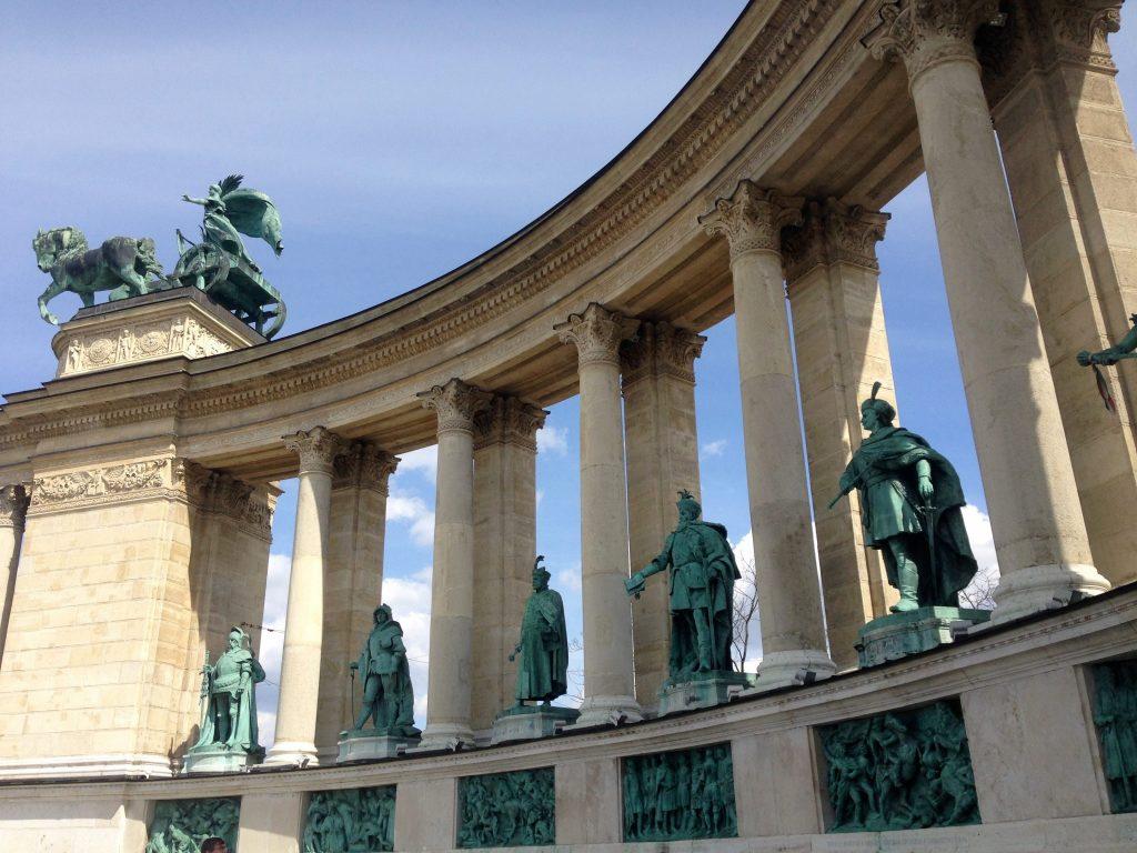 Piazza degli Eroi – Foto scattata con la Lumix GH5 (Panasonic)