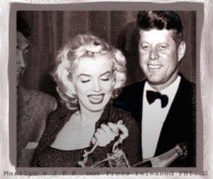 JFK e Marilyn Monroe