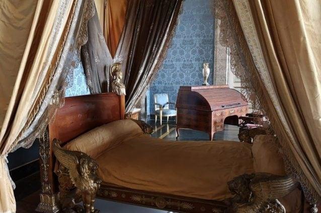 Letto nuziale di Gioacchino Murat in stile Impero