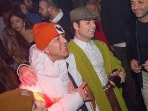 Franco Ricciardi e Ivan Granatino al party solidale dei Centri Narciso
