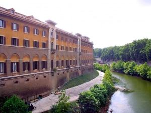 L'ospedale Fatebenefratelli di Roma