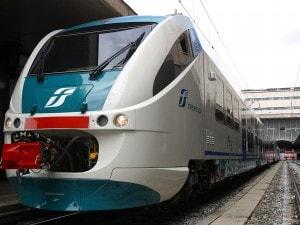treno regionale – foto di repertorio