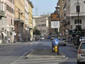 Gli accessi ai varchi Ztl del centro storico di Roma