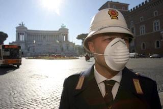 Polveri sottili oltre il limite a Roma, domani stop ai veicoli più inquinanti