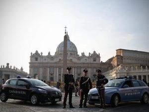 Controlli di Polizia e Carabineri in Vaticano