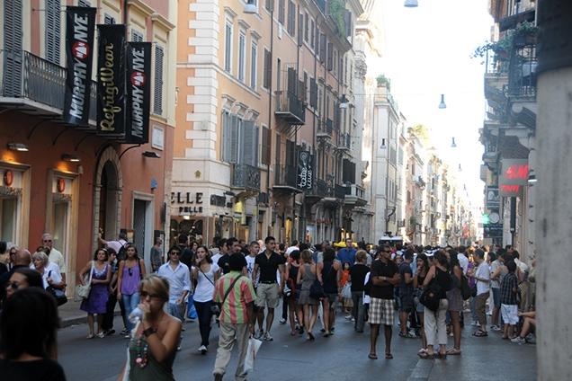 Le 10 vie dello shopping di Roma