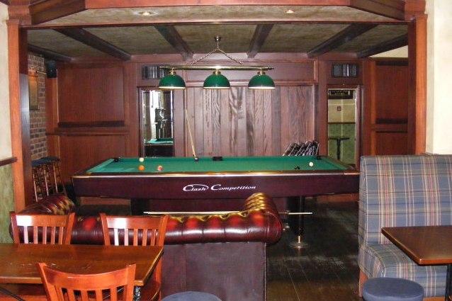 Il biliardo al Lochness Pub