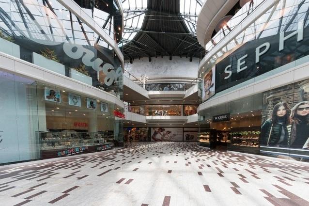 I centri commerciali più grandi di Roma.