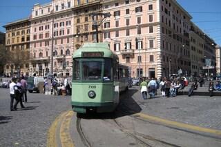 Roma, linee tram 5,14 e 19 sospese per un guasto tecnico da Pigneto a Porta Maggiore