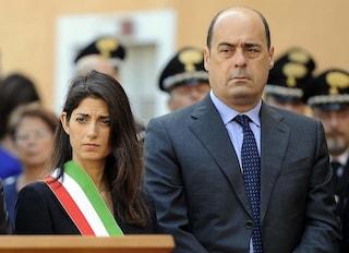 """Scontro totale sui rifiuti, Raggi: """"Zingaretti scappa"""". Il governatore: """"Sindaca arrogante"""""""
