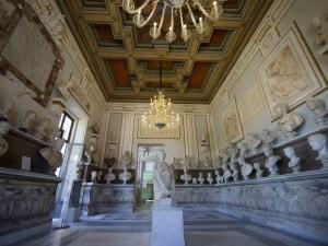 Una sala dei Musei Capitolini, Roma