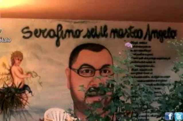 Murales in ricordo di Serafino Cordaro a Tor Bella Monaca