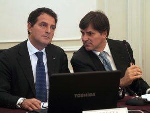 Da sinistra, Vincenzo Moretta e Achille Coppola
