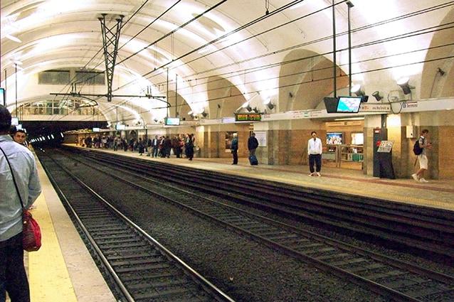 Fermata di Termini della metropolitana di Roma (Wikipedia).