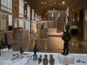 """Interno del Museo nazionale """"Luigi Porini"""" all'Eur, Roma (Facebook)."""