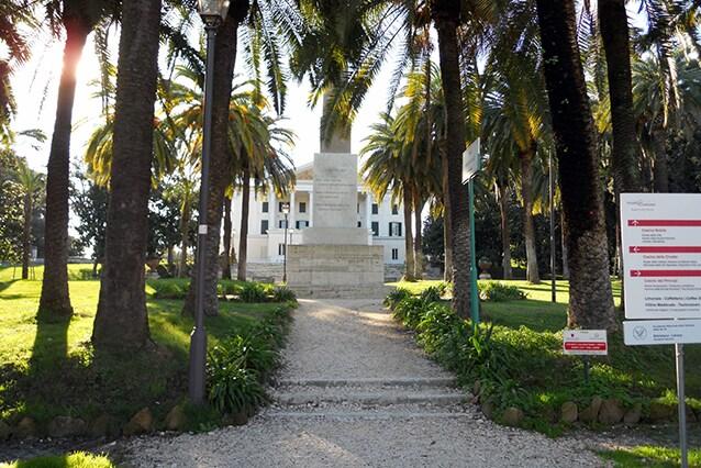 Ingresso di Villa Torlonia