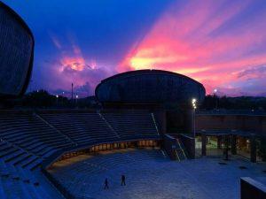 L'Auditorium Parco della Musica – Foto Facebook Giorgia Scoccia