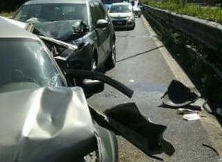 Incidente sulla Flaminia: due auto coinvolte, tre feriti. Traffico bloccato a Prima Porta