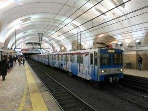 Metro B Termini – foto di repertorio