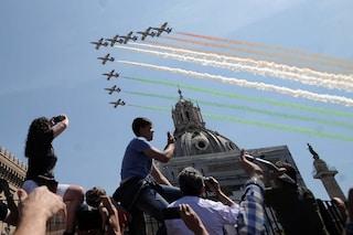 Roma, il 2 giugno l'esibizione delle Frecce Tricolori: ecco dove e quando passeranno