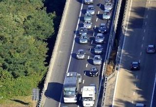 Traffico Roma, code e caos sul raccordo per colpa di due incidenti